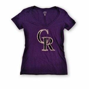 Colorado Rockies Women's Short Sleeve T Shirt